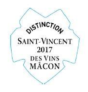 macaron distinction St Vincent Vins Mâcon 2017